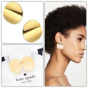 Kate Spade Gold Standard Statement Studs Earrings